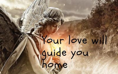 Liefde wijst je de weg naar huis…