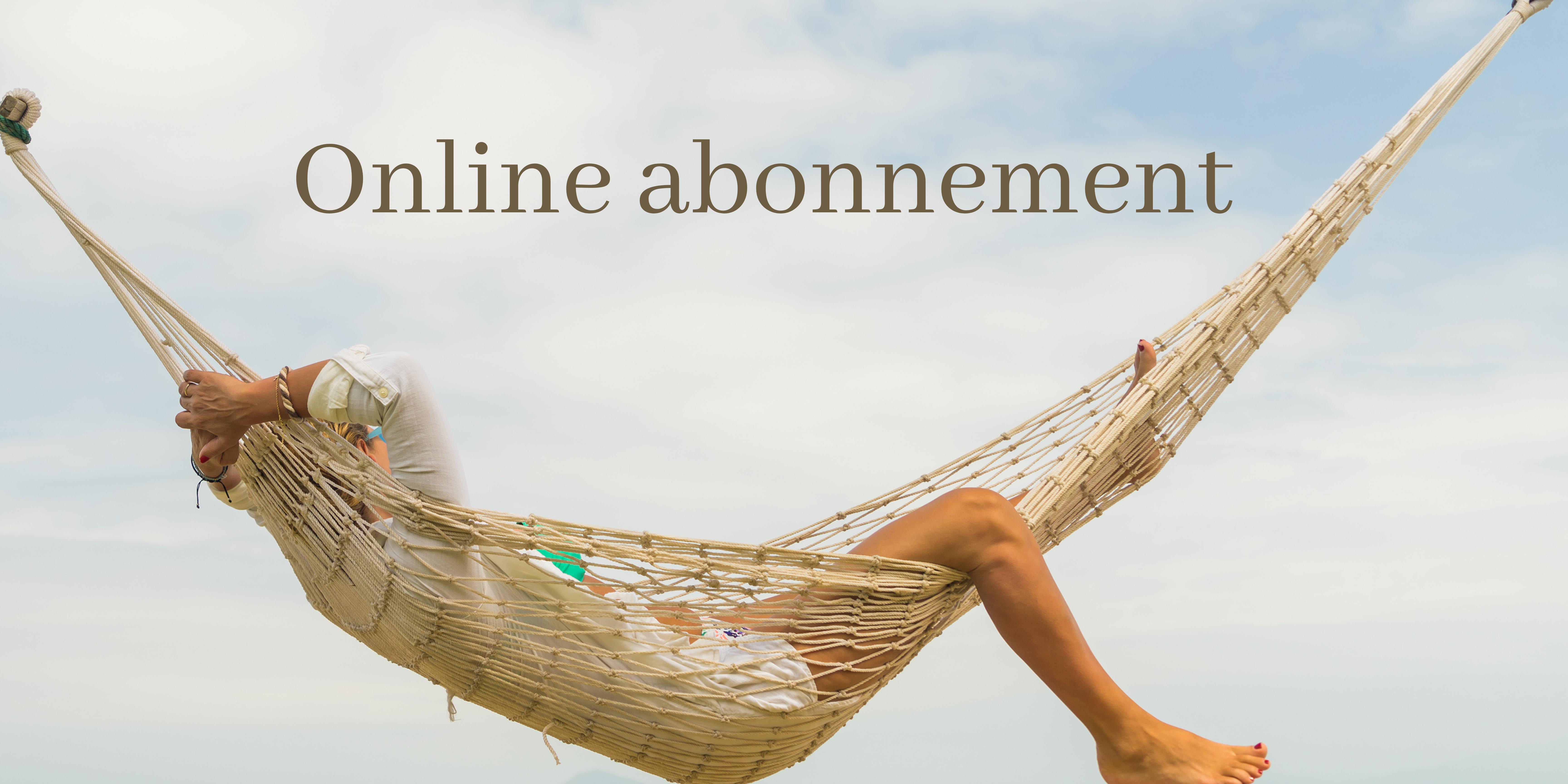 online abonnement